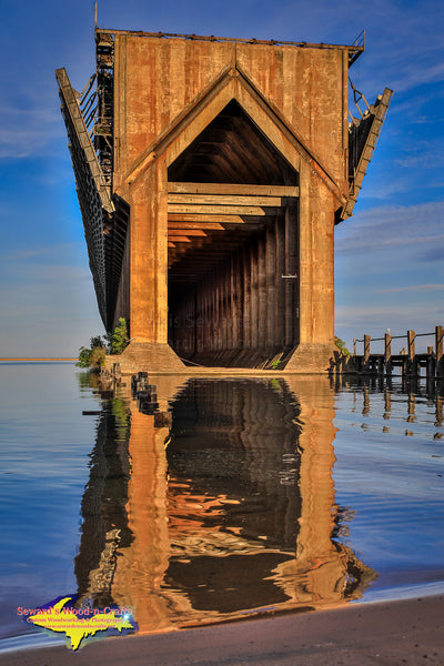 Michigan Landscape Photography Marquette Lower Harbor Ore Dock Artwork