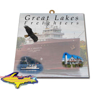 Great Lakes Freighters Hanging Art Lee A Tregurtha Photo Tiles, Prints, Gifts & Collectibles