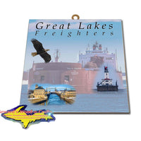 Great Lakes Freighters Hanging Art Paul R. Tregurtha Photo Tiles, Prints, Gifts & Collectibles