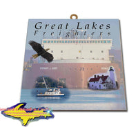 Great Lakes Freighters Hanging Art Stewart J. Cort Photo Tiles, Prints, Gifts & Collectibles
