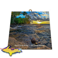 Lake Superior Pictured Rocks Gifts & Collectibles Hurricane River Photo Tiles