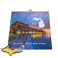 Gifts And Collectibles Sault Ste. Marie, Michigan Cloverland Photo Tile
