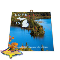 Spectacle Lake Brimley Michigan Wall Art Inexpensive Michigan's Upper Peninsula Gifts