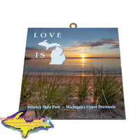 Brimley State Park Sunrise Photo Tile Brimley Gifts And Collectibles