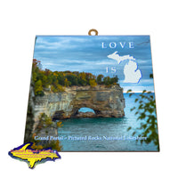 Pictured Rocks Grand Portal -5996 Home Decor & Fine Art