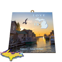 Leland Michigan Gifts And Collectibles Photo Tile Wall Art For All Occasions