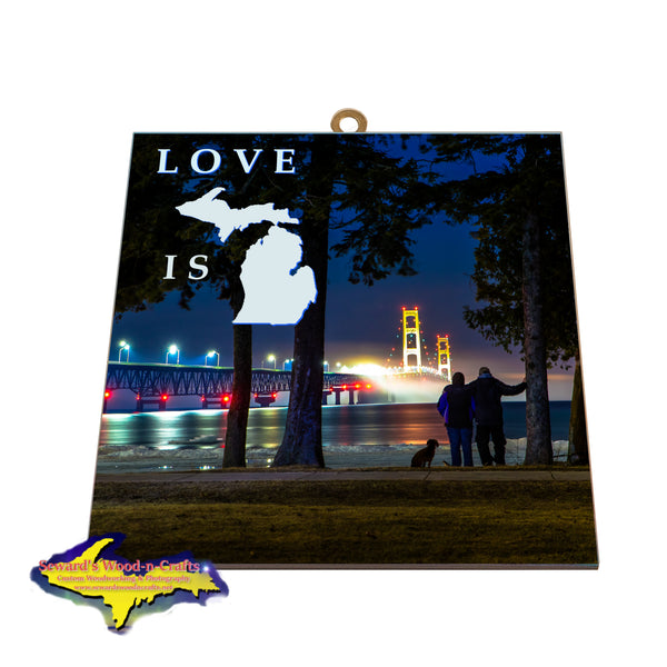 Mackinaw Bridge -1111 Wall Art Signs & Gifts