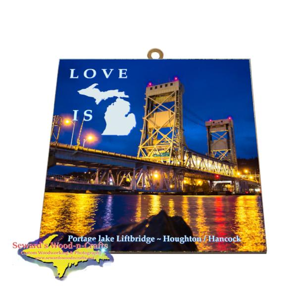 Portage Lake Lift Bridge Houghton Michigan Gifts and Collectibles