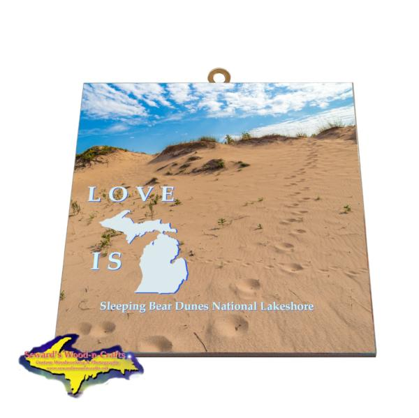 Sleeping Bear Dunes Hanging Photo Tiles Gifts And Collectibles