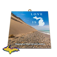 Sleeping Bear Dunes Shoreline Hanging Photo Tiles Gifts And Collectibles