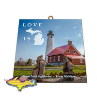Tawas Point Lighthouse Photo Tile Gifts And Collectibles