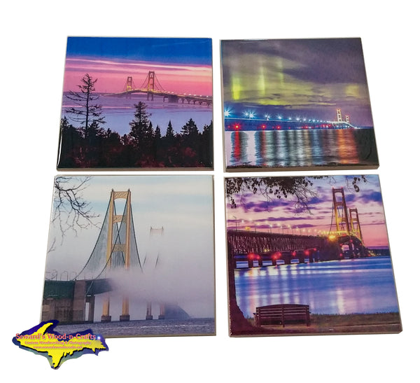 Michigan Coaster Sets Mackinac Bridge Season's Of Mackinaw