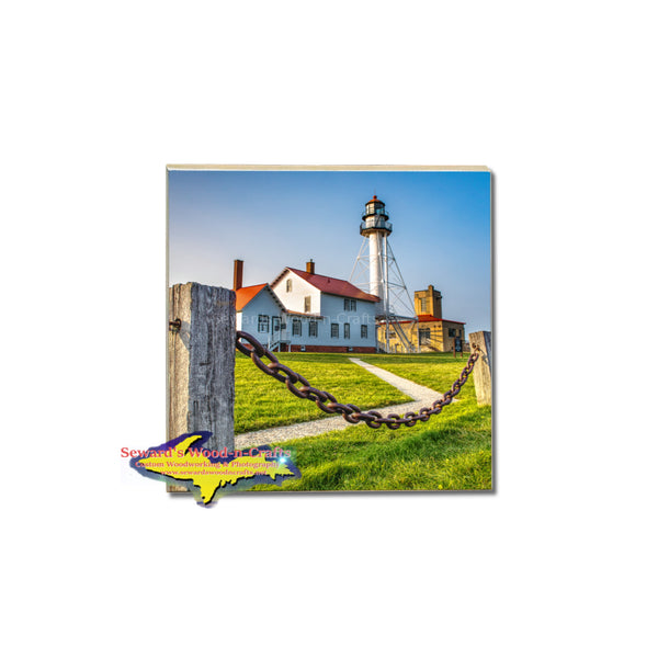 Michigan Coasters Lighthouse Whitefish Point -1395