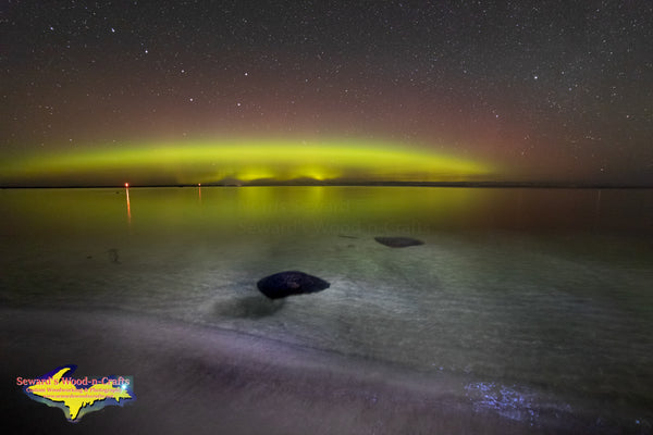 Michigan Landscape Photography  Northern Lights Lake Superior Photos