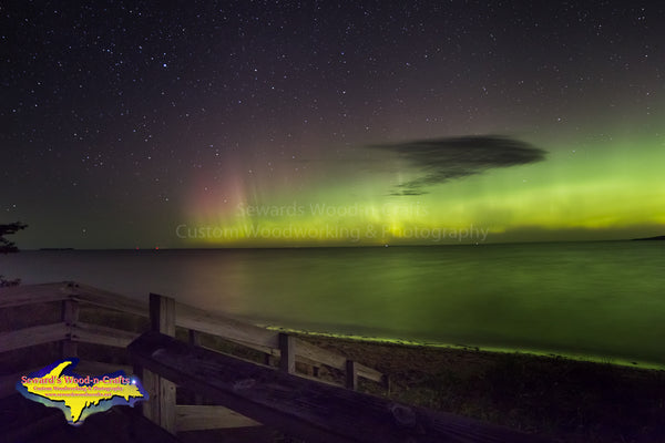 Northern Lights Iroquois Point -4564   Photography Sault Ste. Marie, Michigan
