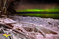 Michigan Photography ~ Northern Lights Lake Superior -9213