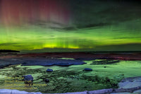 Michigan Landscape Photography Northern Lights Pendells Creek Photo Image great price