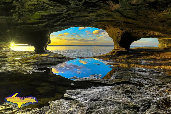 Michigan's Upper Peninsula Cave Photo Images For Sale Great Prices