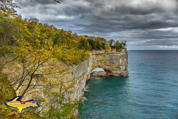 Michigan Landscape Photography Grand Portal Pictured Rocks Munising, Michigan