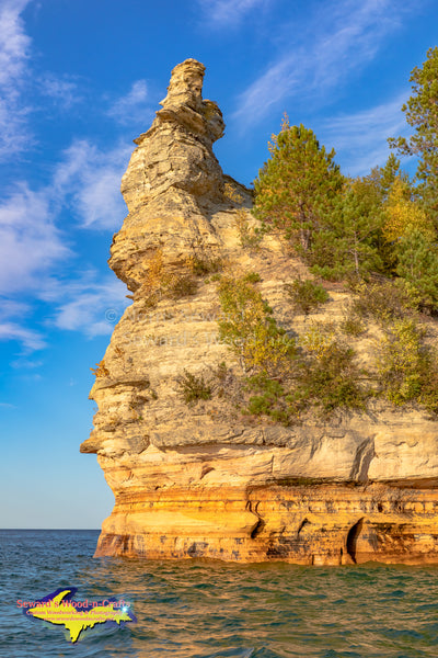 Pictured Rocks Miners Castle Autumn Colors -6781