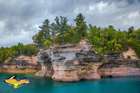 Michigan's Upper Peninsula Photos Pictured Rocks Battleship Row Image For Sale Great Prices