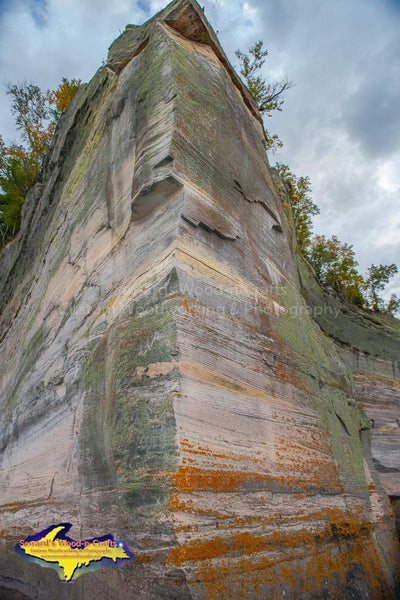 Indian Head Pictured Rocks Photo Michigan's Upper Peninsula Photography