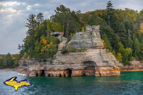 Michigan's Upper Peninsula Photos Pictured Rocks Miners Castle Image For Sale Great Prices