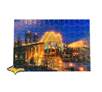 Puzzle of the International Bridge fun gifts from Michigan's Upper Peninsula