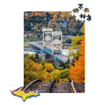 Michigan Jigsaw Puzzles Portage Lake Lift Houghton -2937