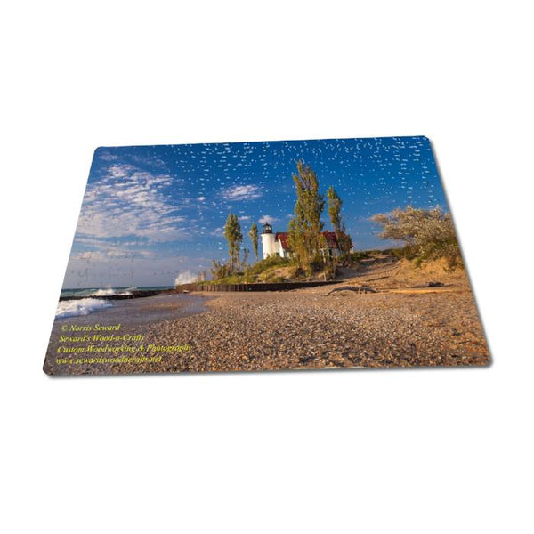 Michigan Puzzles 252 Piece Betsie Lighthouse Fun For All