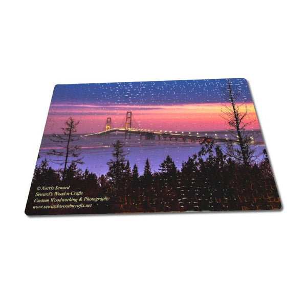 Michigan Made Puzzles Mackinac Bridge Michigan Upper Peninsula Puzzle