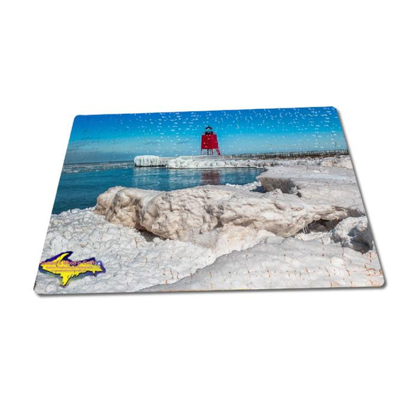 Michigan Puzzles 252 Piece Charlevoix Lighthouse Family Fun And Games