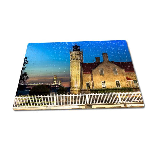 Michigan Lighthouse Puzzles 252 Piece Old Mackinac Mackinaw City