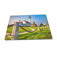 Michigan Puzzle 252 Piece Lighthouse Whitefish Point Jigsaw Puzzles For Sale