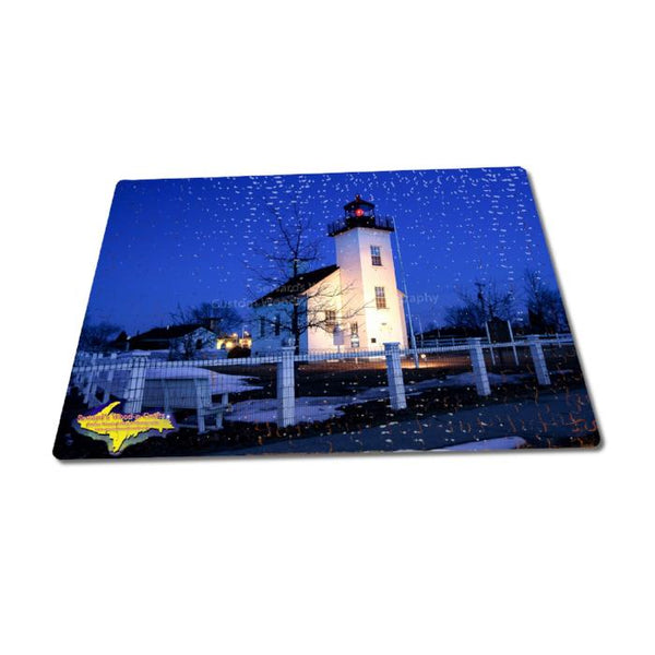 Michigan Lighthouse Puzzles 252 Piece Sand Point Escanaba Jigsaw Puzzle Family Fun & Games