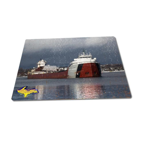 Great Lakes Freighters Puzzles 252 Piece Arthur Anderson Jigsaw Puzzle For Boat Nerds