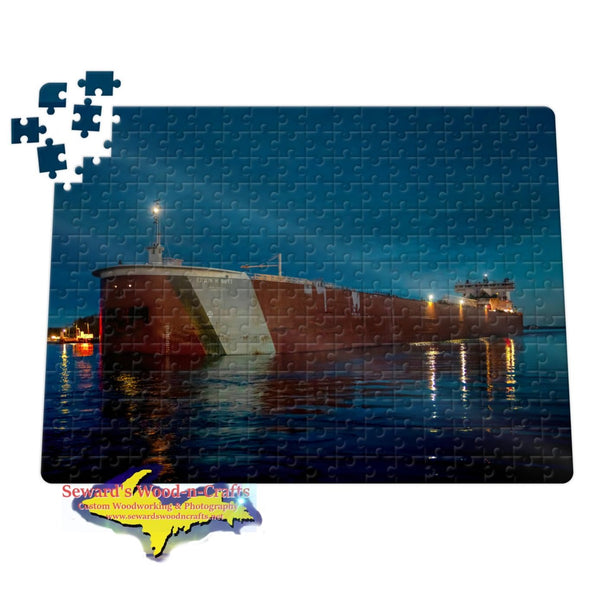 Great Lakes Freighter Jigsaw Puzzles Edwin H. Gott