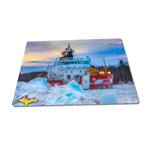 United States Coast Guard Cutter Mackinaw 252 pc 11x14 Jigsaw Puzzle Family Fun And Games