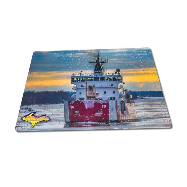 United States Coast Guard Cutter Mackinaw Puzzle For Sale