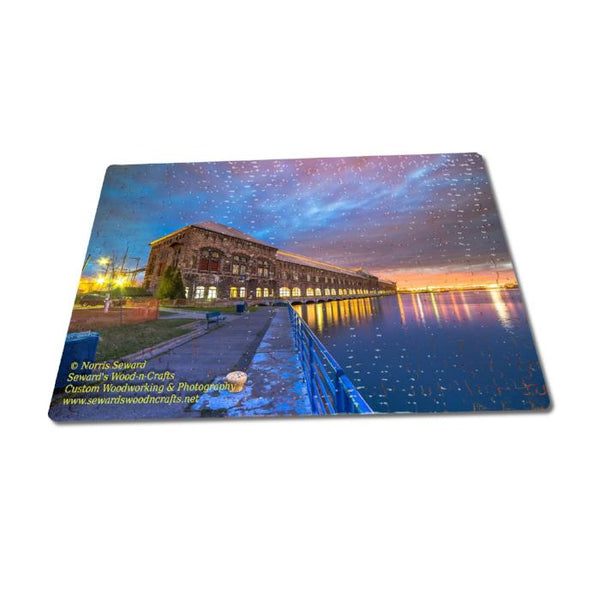 Michigan Puzzle 252 Piece Cloverland Electric Hydro Plant Sault Michigan Gifts & Collectibles