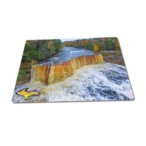 Michigan Puzzles 252 Piece Upper Tahquamenon Falls Autumn Colors Jigsaw Puzzle For Sale