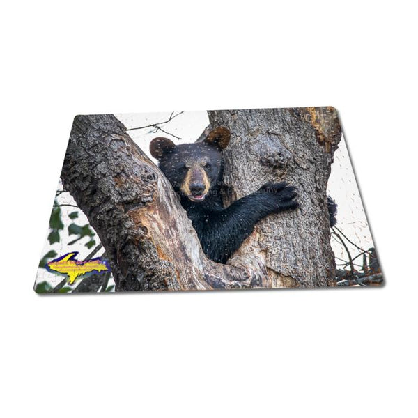 Michigan Wildlife Puzzle 252 Piece Bear Cub Jigsaw Puzzle Family Fun