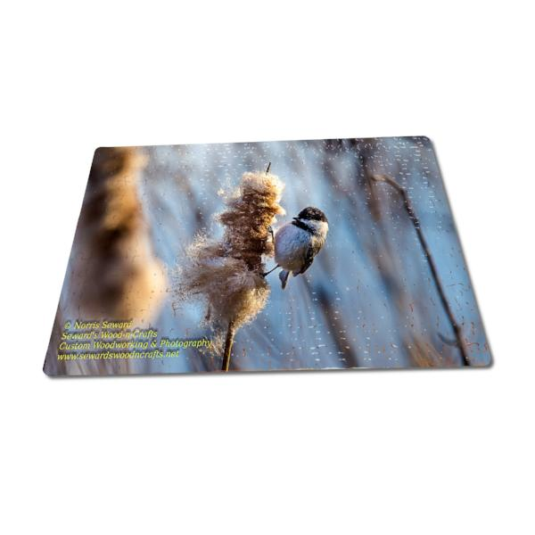 Michigan Made Jigsaw Puzzles Black-Capped Chickadee Michigan Wildlife Puzzle