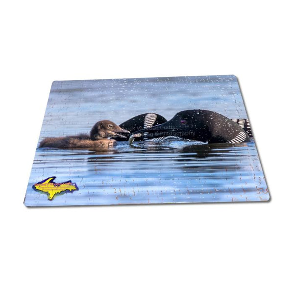 Michigan Wildlife Puzzle 252 Piece Loons Jigsaw Puzzle Family Fun & Games