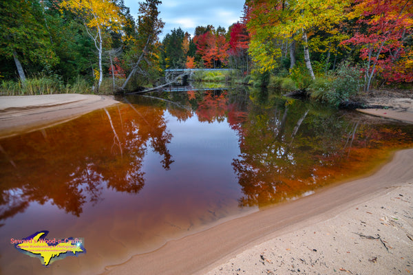 Roxbury Creek Autumn Colors Brimley Michigan Photos
