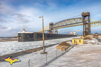 Great Lakes Freighters Photography American Integrity at the Soo Locks