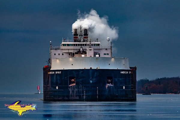 Great Lakes Freighters Photography American Spirit Photo
