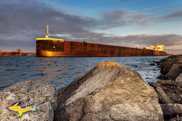 Great Lakes Freighters Indiana Harbor -1291
