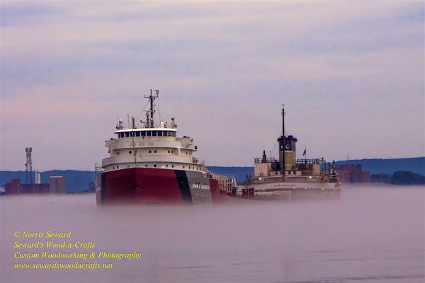 Great Lakes Freighters Photo John Munson Boat Image For Sale