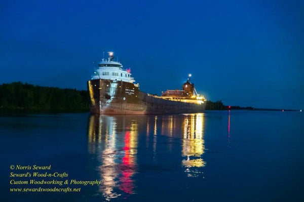 Great Lakes Freighter Kaye E. Barker Photo, Canvas, Metal Prints & Photo Gifts Home/office decor for boat fans